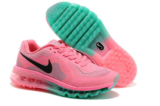 Nike Air Max 2014 Womens Running Shoe Pink Green On VaporMaxRunning