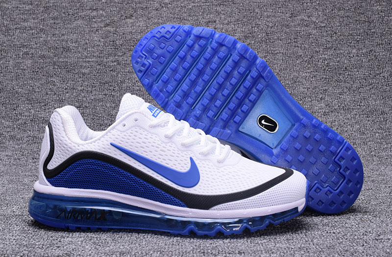 Nike Air Max 2017 Blue Black White 898013-111 Cheap Air Max On VaporMaxRunning