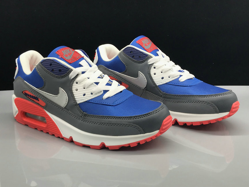 Nike Air Max 90 Classic Blue Red Grey White On VaporMaxRunning