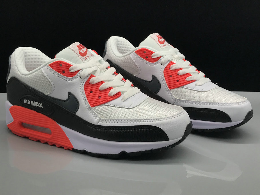 Nike Air Max 90 Classic White Red Black On VaporMaxRunning