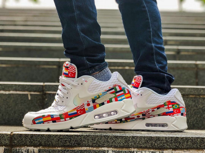 Nike Air Max 90 Out Of The International Flag Pack Mens Womens On VaporMaxRunning