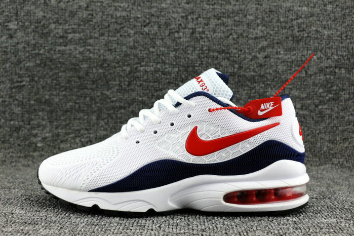 Nike Air Max 93 OG Red White Navy Blue On VaporMaxRunning