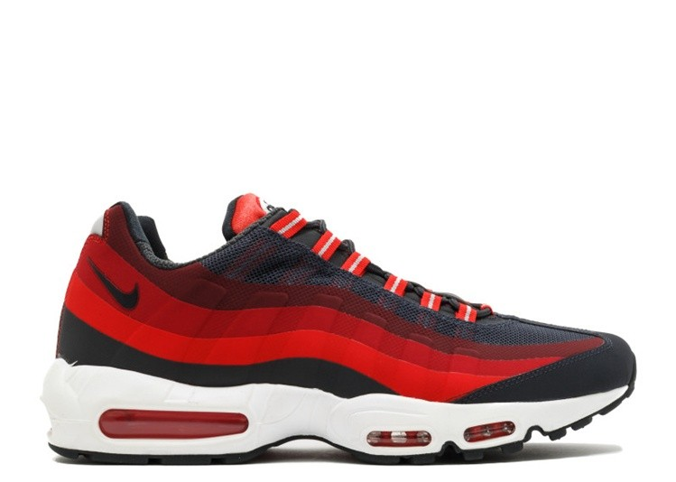 Cheap Nike Air Max 95 No Sew 616190-001 Anthracite Challenge Red Gym Red Laser Crimson On VaporMaxRunning
