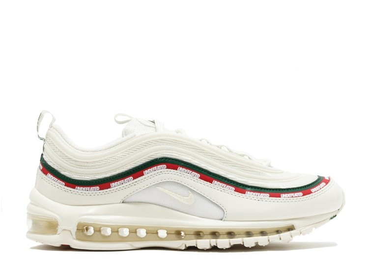 Cheap Nike Air Max 97 Og Undftd Undefeated Aj1986-100 Sail White Gorge Green Speed Red On VaporMaxRunning
