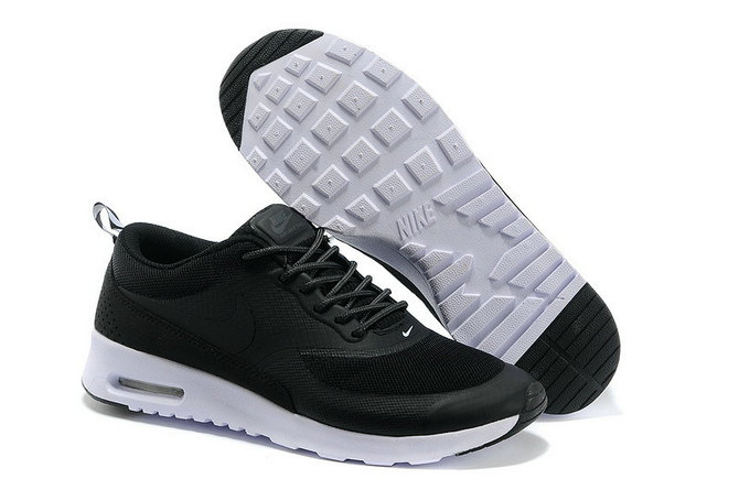 Nike Air Max Thea All Black White On VaporMaxRunning