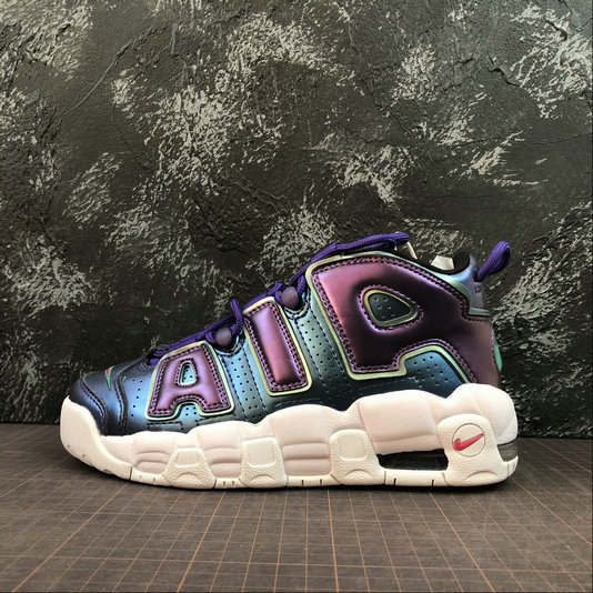 Nike Air More Uptempo Womens 922845-500 Court Purple Rush Pink Violet Court Rose Intense On VaporMaxRunning
