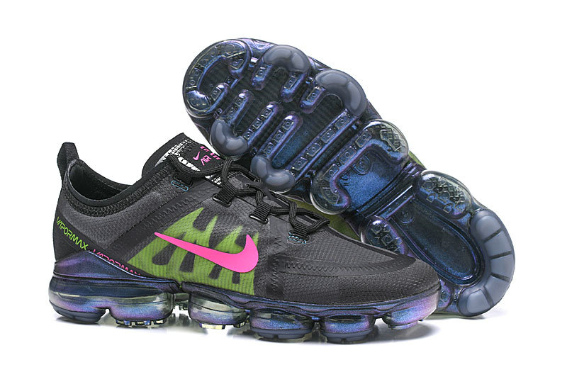 Nike Air VaporMax 2019 PRM in Active Fuchsia and Lime Blast On VaporMaxRunning