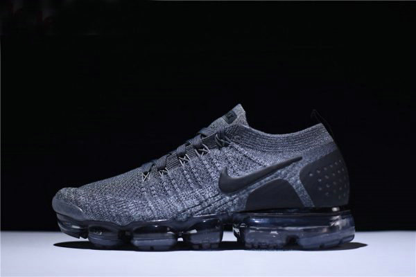 Cheap Nike Air VaporMax Flyknit 2.0 Dark Grey Mens and Womens Running Shoe 942842-002 On VaporMaxRunning