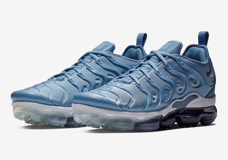 sports shoes d6374 64644 Nike Air VaporMax Plus Work Blue Cool Grey-Diffused Blue-White 924453-402
