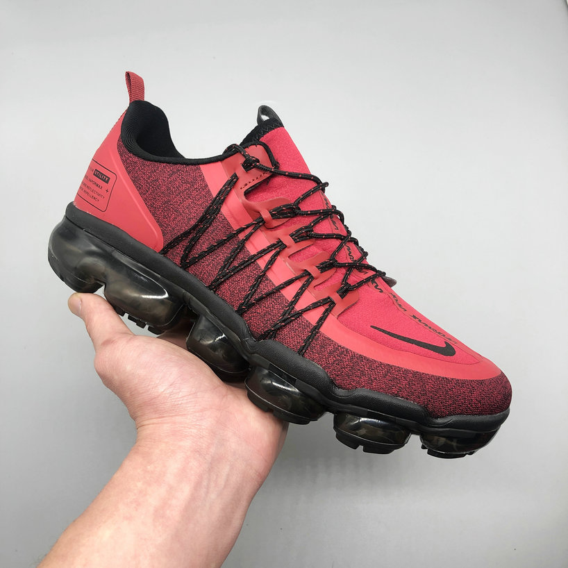 Nike Air VaporMax Utility Burgundy Crush Metallic Gold-Burgundy Ash-Sail AQ8811-600 On VaporMaxRunning