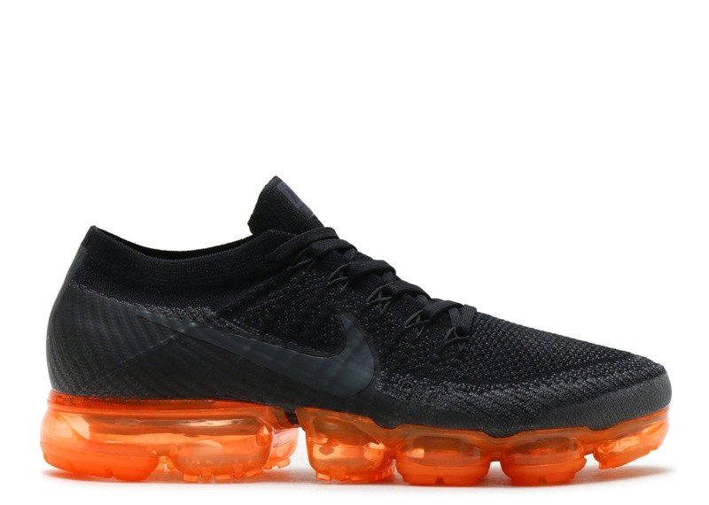 Cheap Nike Air Vapormax Black Orange Ah8449-001 Anthracite Black Rush Orange Anthracite On VaporMaxRunning