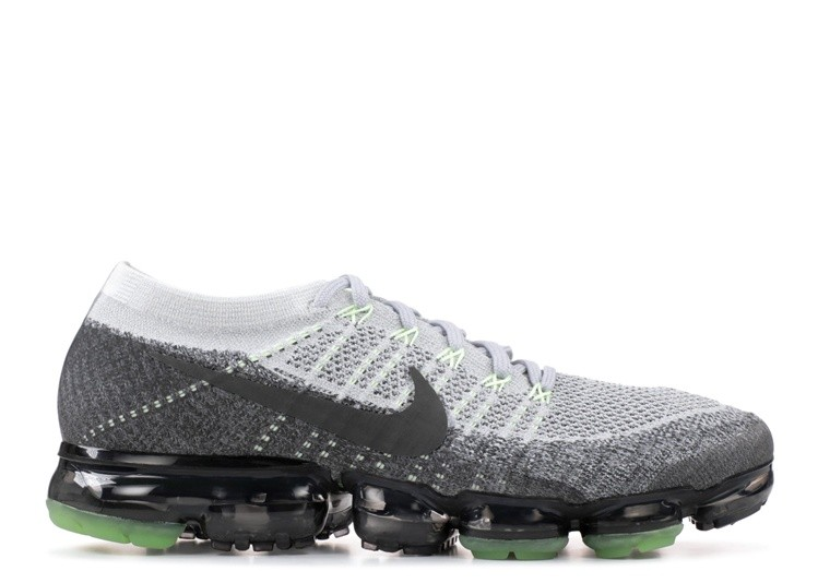 Cheap Nike Air Vapormax Flyknit Heritage Pack 922915-002 Pure Platinum Anthracite White On VaporMaxRunning