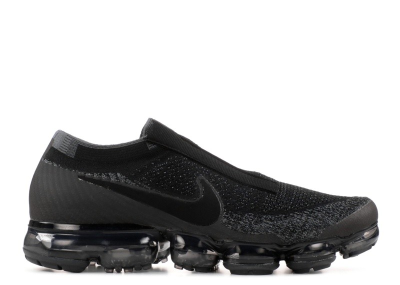 Cheap Nike Air Vapormax Flyknit Se Laceless Black Night Aq0581-001 Black Dark Grey Black On VaporMaxRunning