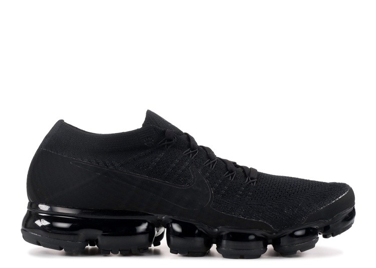 Cheap Nike Air Vapormax Flyknit Triple Black 2.0 849558-011 Black Anthracite White Black On VaporMaxRunning
