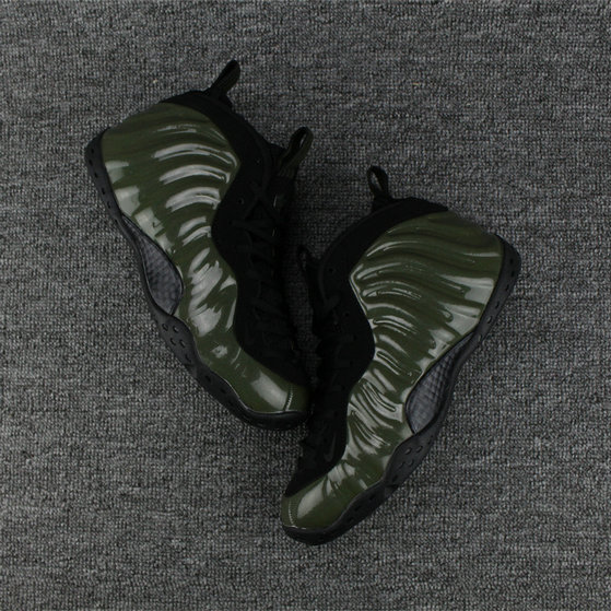 first rate 5fdf5 e8836 Nike Foamposites Cheap Nike Air Foamposite Army Green Black On  VaporMaxRunning