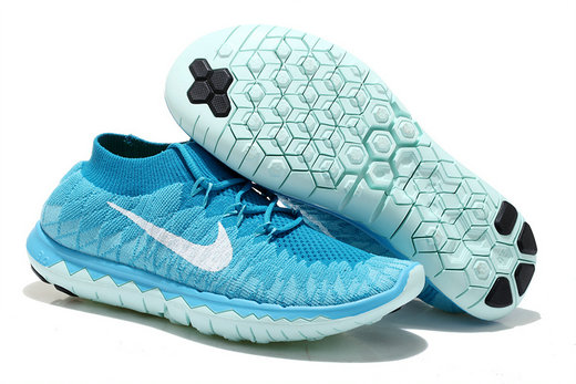 Nike Free 3.0 Flyknit Men Blue Jade On VaporMaxRunning