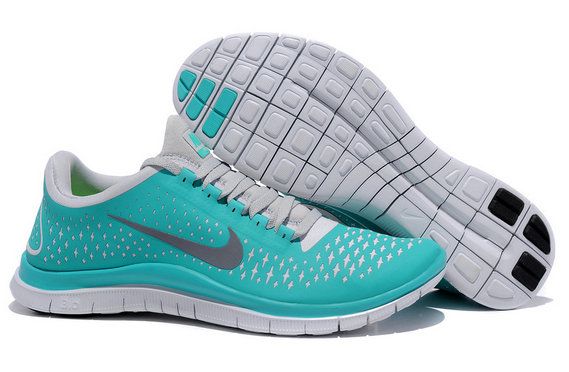 Nike Free 3.0 V4 Mens Running Shoe New Green Reflect Silver Pure Platinum On VaporMaxRunning