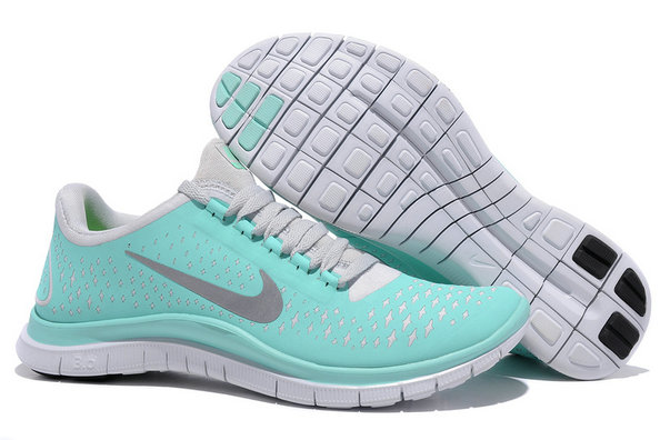 Nike Free 3.0 V4 Womens Running Shoe New Green Reflectiv Silver White On VaporMaxRunning