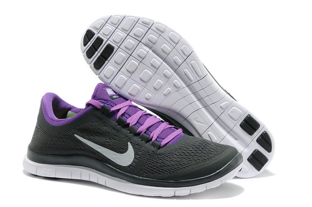 Nike Free 3.0 V5 Mens Black Purple Running Shoes On VaporMaxRunning