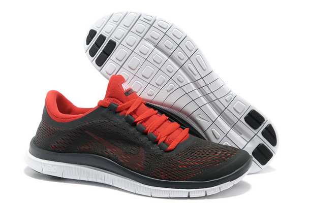 Nike Free 3.0 V5 Mens Black Red Running Shoes On VaporMaxRunning