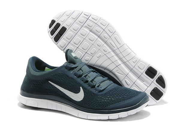 Nike Free 3.0 V5 Mens Dark Blue White Running Shoes On VaporMaxRunning