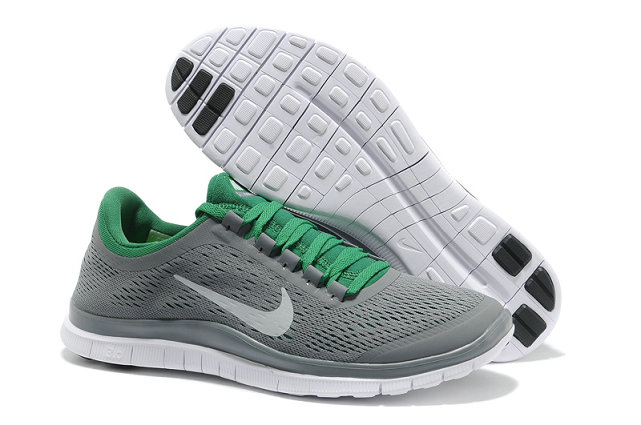 Nike Free 3.0 V5 Mens Gray Green Running Shoes On VaporMaxRunning
