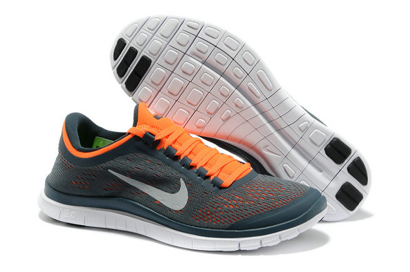 Nike Free 3.0 V5 Mens Gray Orange Running Shoes On VaporMaxRunning