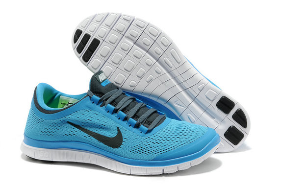 Nike Free 3.0 V5 Mens RoyalBlue Black Running Shoes On VaporMaxRunning