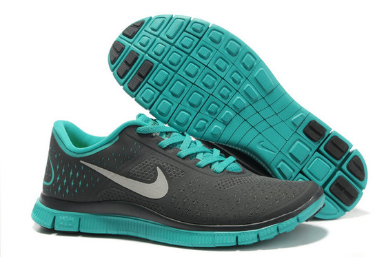 Nike Free 4.0 V2 Mens Running Shoe Dark Gray Green On VaporMaxRunning