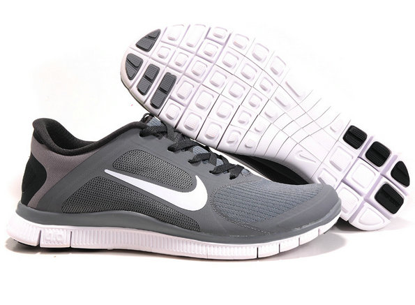 Nike Free 4.0 V3 Cool Grey White-Anthracite On VaporMaxRunning