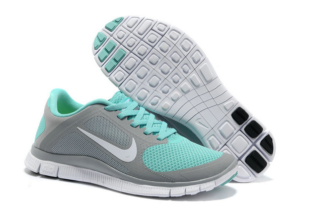 Nike Free 4.0 V3 Women Grey Green On VaporMaxRunning