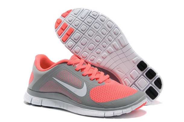 Nike Free 4.0 V3 Women Grey Pink On VaporMaxRunning