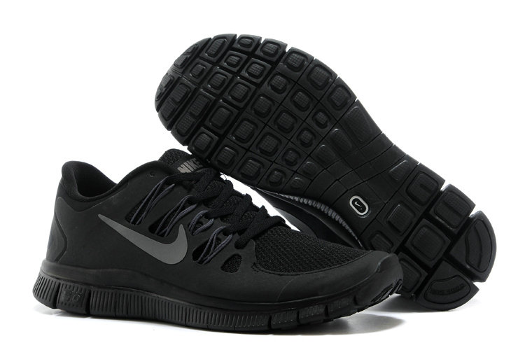 Nike Free 5.0 Mens All Black Training Shoes On VaporMaxRunning