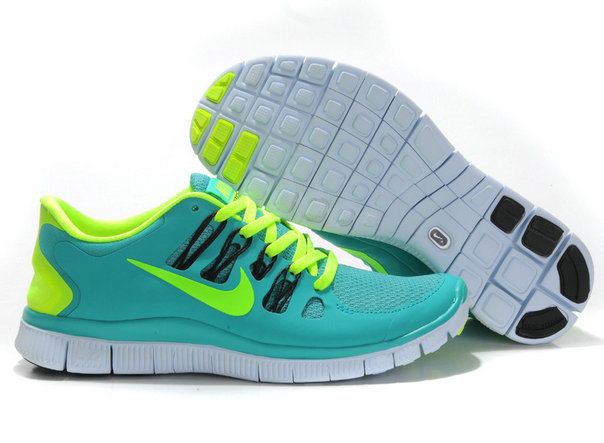 Nike Free 5.0 Mens Apple Green Fluorescence Green Training Shoes On VaporMaxRunning