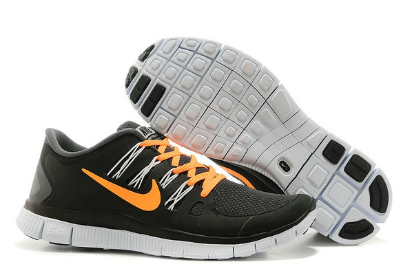 Nike Free 5.0 Mens Black Orange Training Shoes On VaporMaxRunning