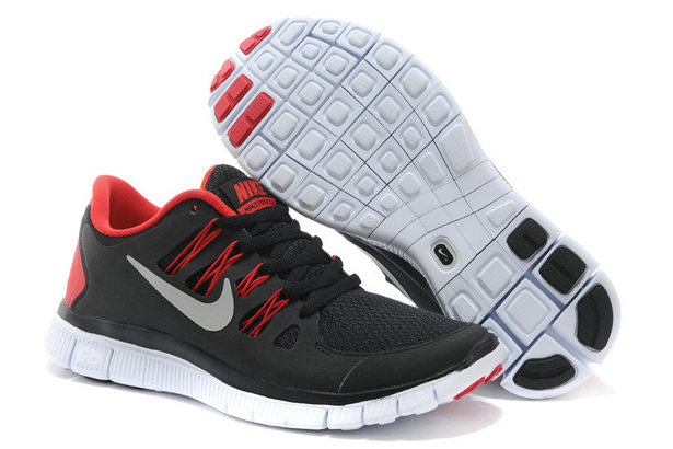 Nike Free 5.0 Mens Black Red Training Shoes On VaporMaxRunning