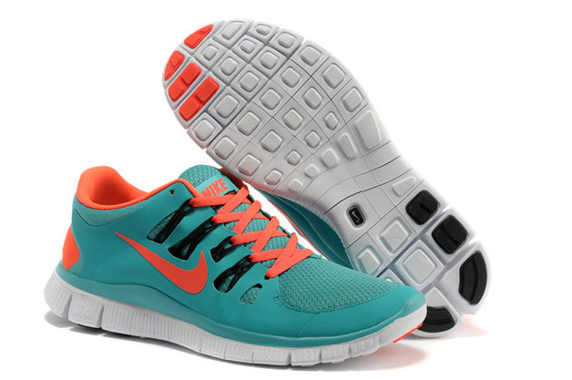 Nike Free 5.0 Mens Blue Orange Training Shoes On VaporMaxRunning