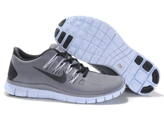 Nike Free 5.0 Mens Gray Black Training Shoes On VaporMaxRunning