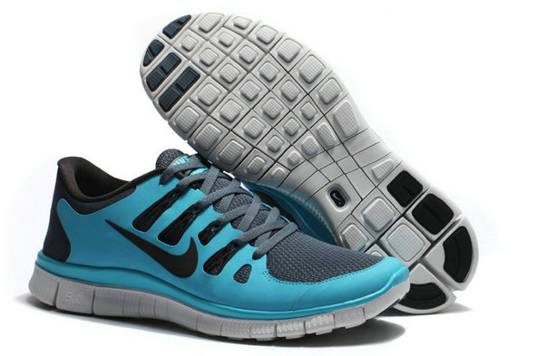 Nike Free 5.0 Mens Jade Deep Gray Training Shoes On VaporMaxRunning