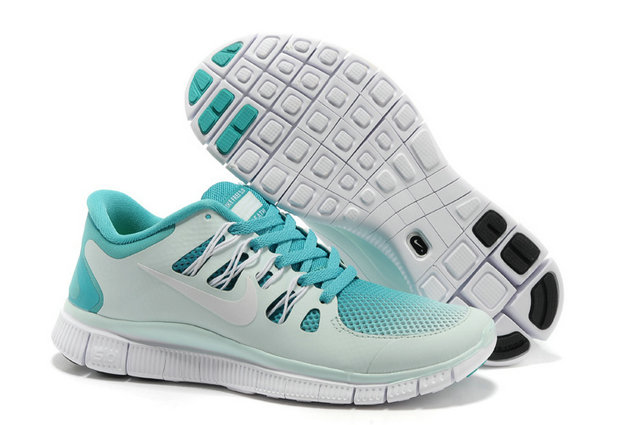 Nike Free 5.0 Mens Light Gray Jade Training Shoes On VaporMaxRunning