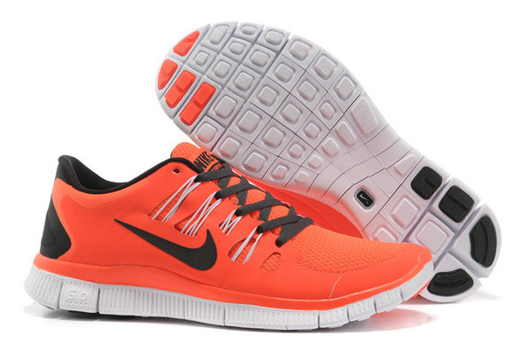 Nike Free 5.0 Mens Orange Black Training Shoes On VaporMaxRunning