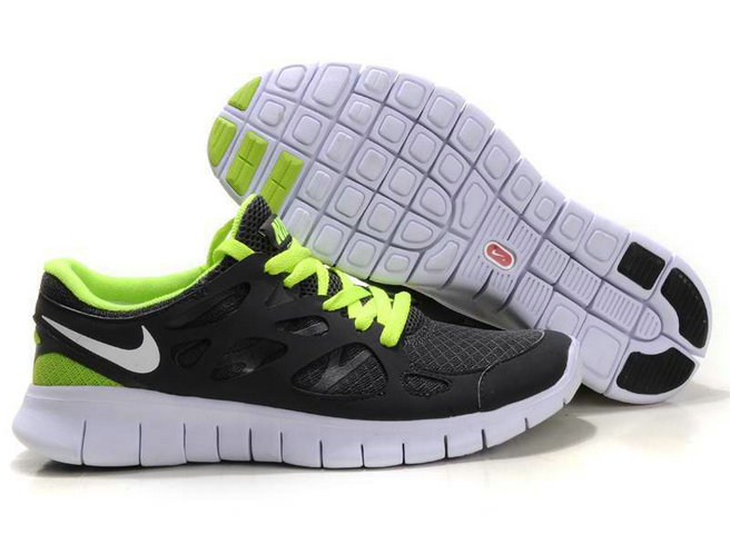 Nike Free Run 2 Mens Running Shoe Dark Gray Green On VaporMaxRunning