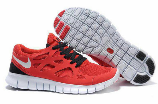 Nike Free Run 2 Mens Running Shoe Dark Red Black On VaporMaxRunning