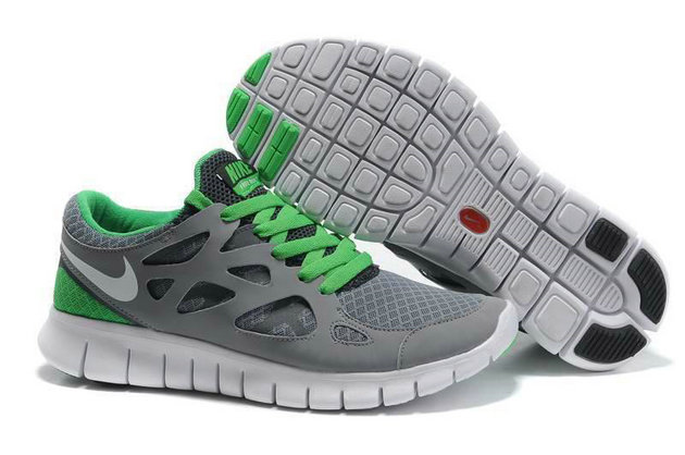 Nike Free Run 2 Mens Running Shoe Gray Dark Green On VaporMaxRunning