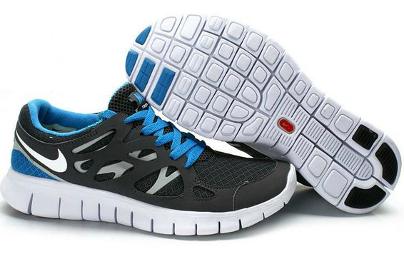 Nike Free Run 2 Mens Running Shoe Gray Royalblue White On VaporMaxRunning