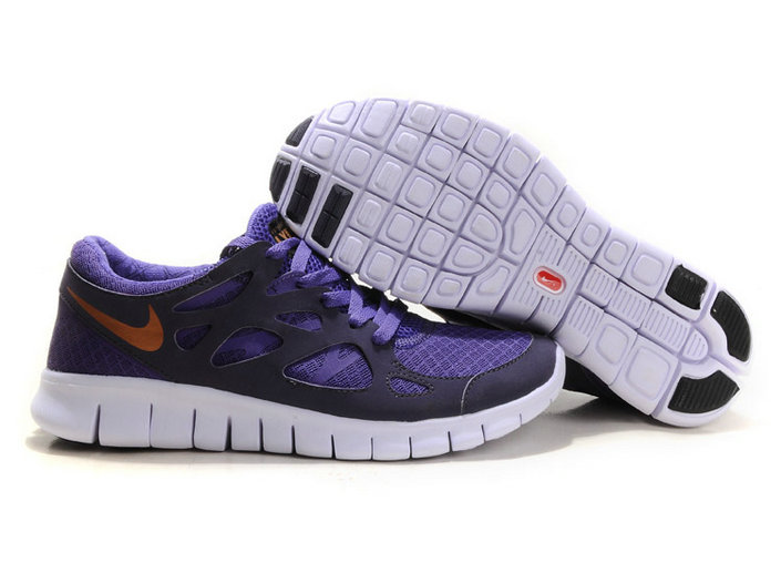 Nike Free Run 2 Mens Running Shoe Purpul Dark Blue On VaporMaxRunning
