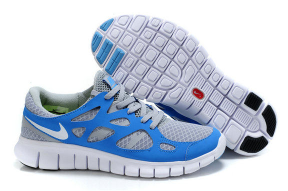 Nike Free Run 2 Mens Running Shoe Royalblue Gray On VaporMaxRunning