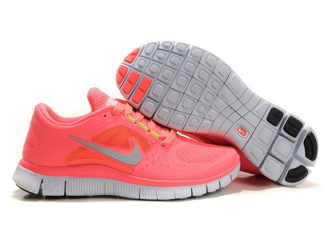 Nike Free Run 3 Womens Running Shoes Coral On VaporMaxRunning