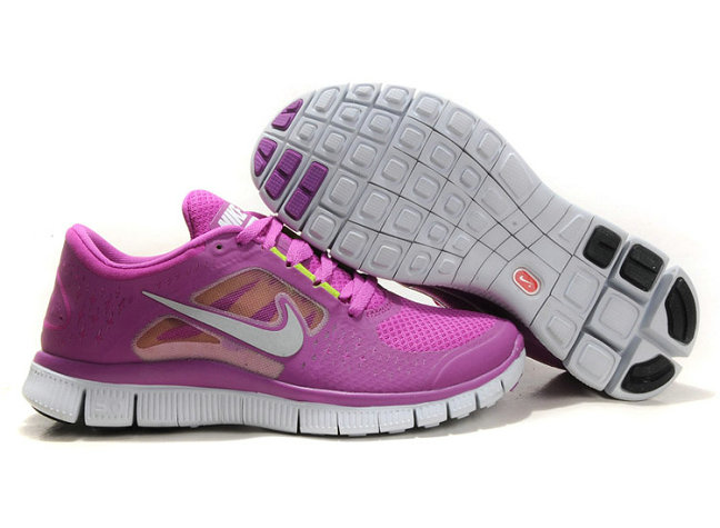 Nike Free Run 3 Womens Running Shoes Purple Red On VaporMaxRunning