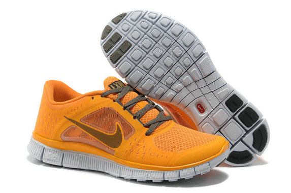Nike Free Run 3 Womens Running Shoes Yellow Gray On VaporMaxRunning